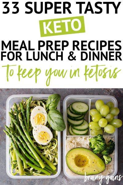 30+ Tasty Keto Meal Prep Recipes for a Stress-Free