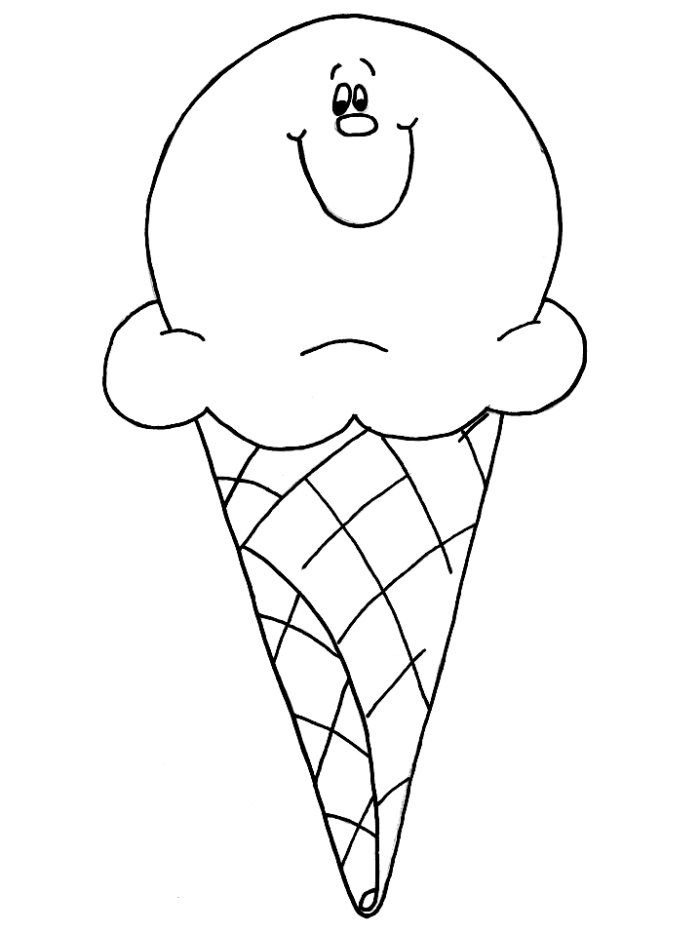 Free Printable Ice Cream Coloring Pages For Kids | Printable letters ...