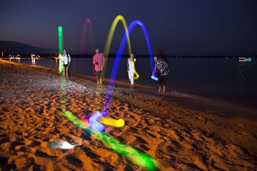 Glow In The Dark Bocce Balls Can Still Play Into The