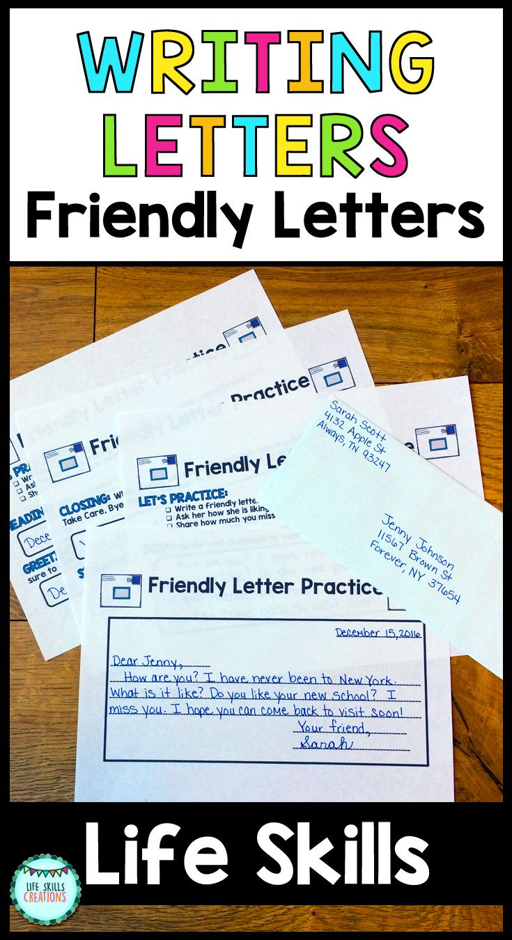 How To Write Letter Best Hoping To Teach Your Students How To Write A Well Thought Out .