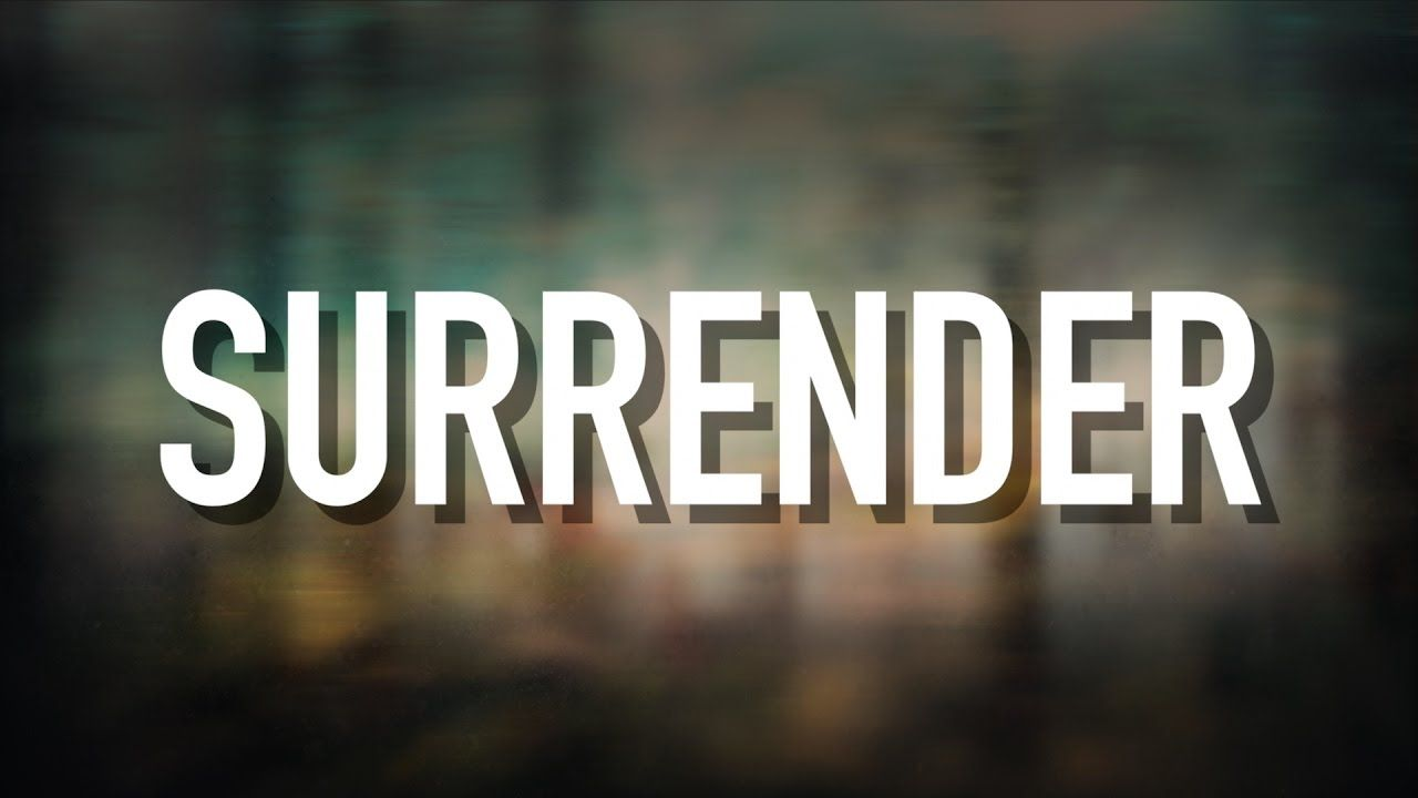 Surrender [Lyric Video] Meleana Lyrics, Then sings my