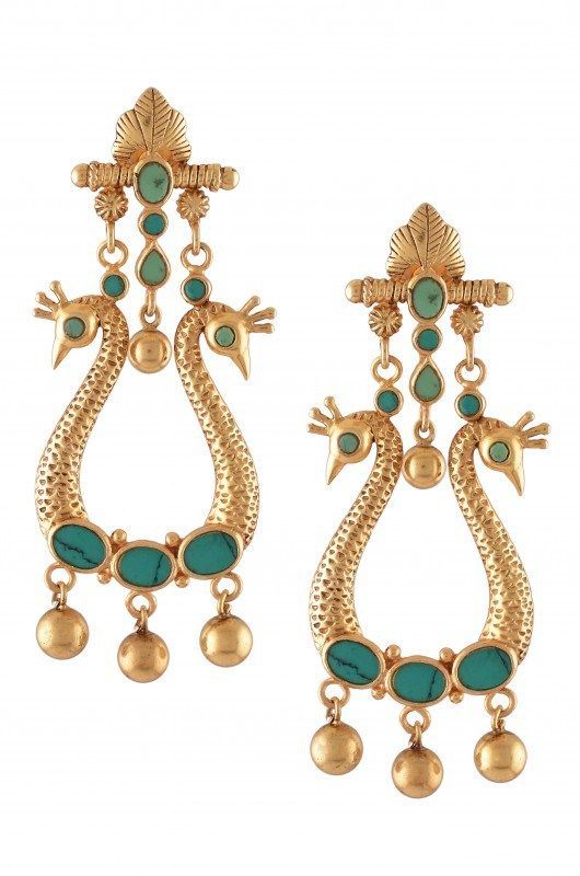 earrings alert shop amrapali deal pearl silver s emerald womens gold diamond women drop tanzanite and