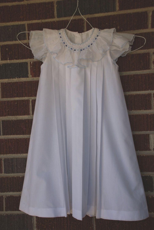 White Infant Christening Dress