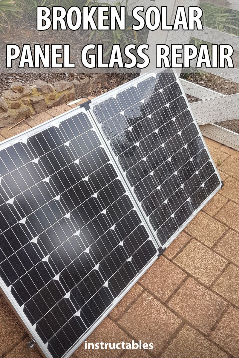 Broken Solar Panel Glass Repair Simple Solar Panels Glass Repair Solar