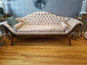 Tufted Sofa Vintage Sofa Long Chair City of Montr al Greater Montr al image