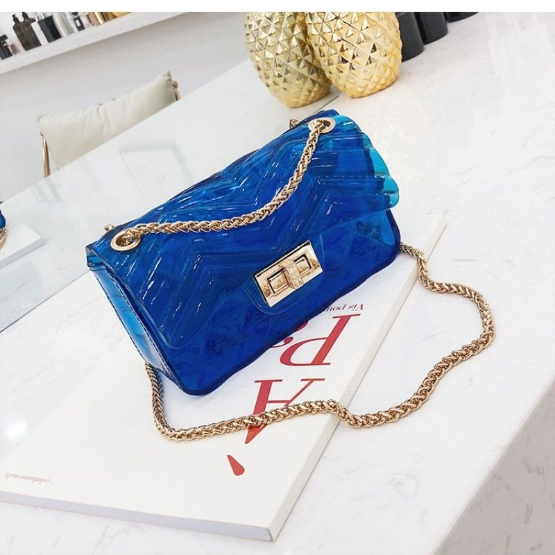 blue cross body bags clear jelly purse bag outfitoftheday lookoftheday fashionblogger photooftheday pvc bucketbag clearba shoulder bag bags jelly purse blue cross body bags clear jelly purse