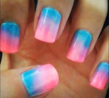 Detailed Ombre Nail Tutorial Nail Polishing Guide Pinterest