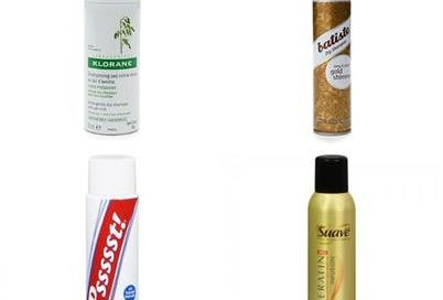 10 best dry shampoos via @Glitter Guide.