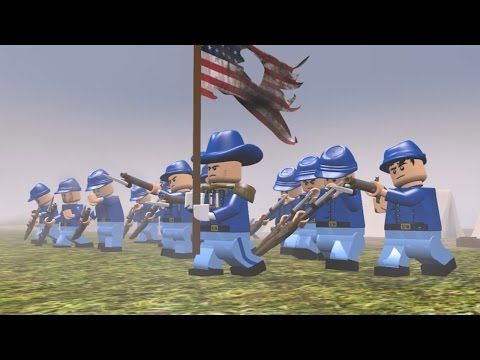 ▶ LEGO American Civil War - YouTube - Visit to grab an amazing super hero shirt now on sale!