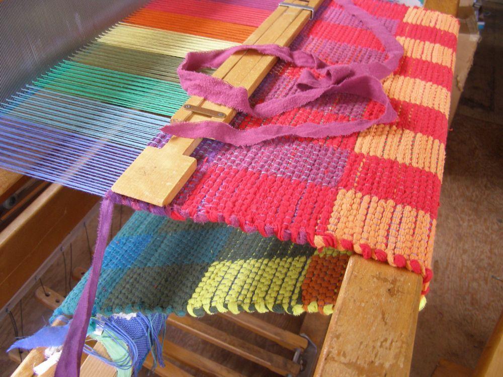 Rag Rug Weaving Block Design Google Search