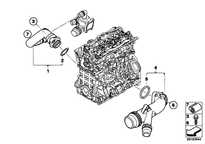 Bmw n42 engine diagram #6 | bmw n42 | BMW, Engineering