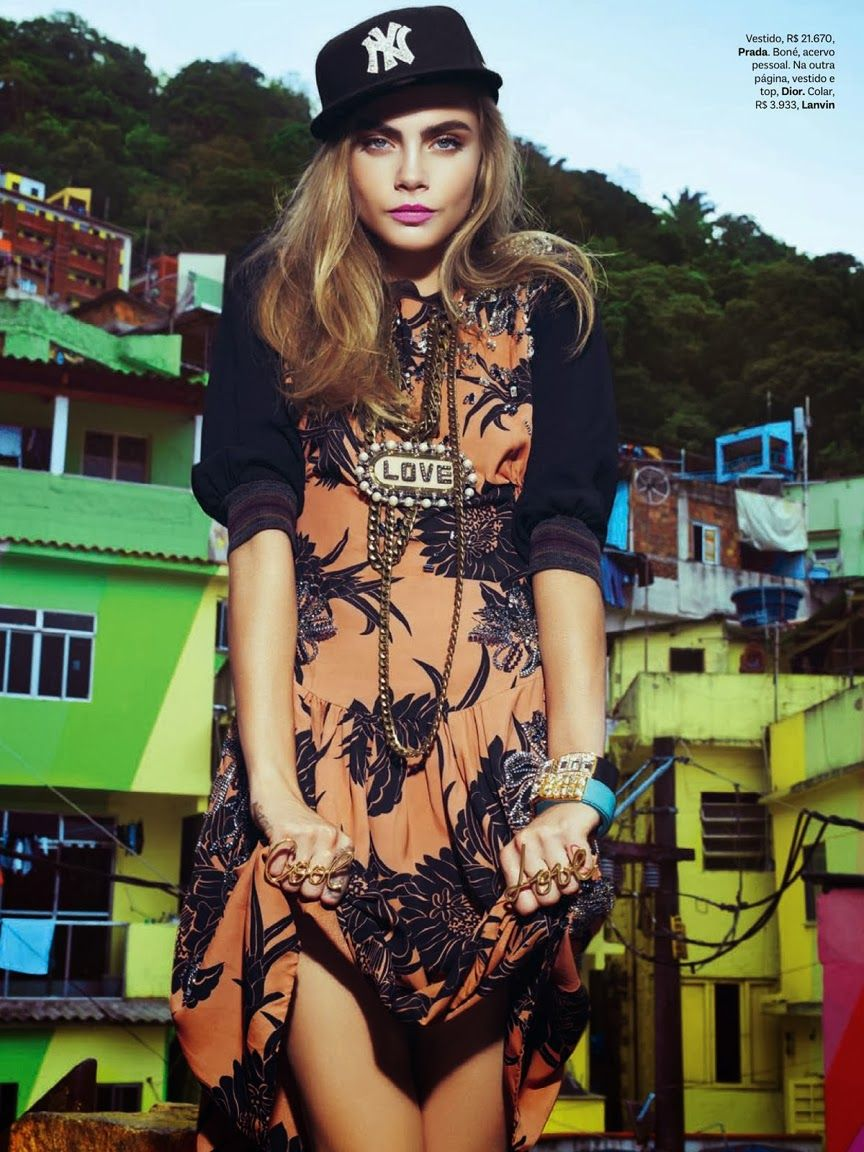 VOGUE BRASIL, FEBRUARY 2014 photography: jacques dequeker   ∆   model: cara delevingne