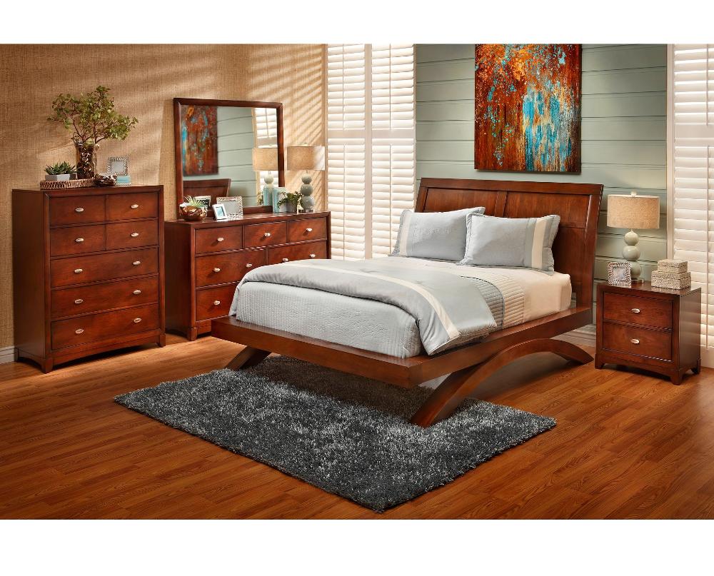 Grant Park Platform Bed in 2020 Full bedroom furniture