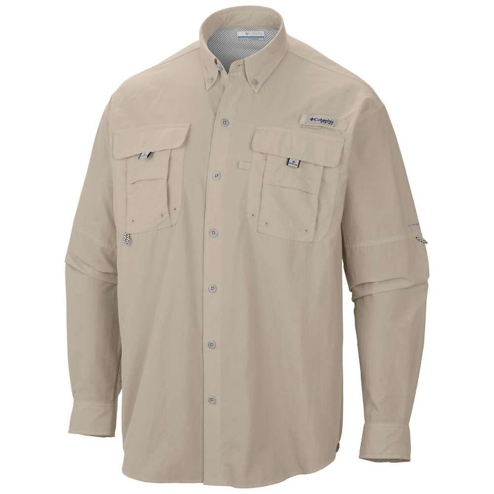 Angelsport Neu Columbia Sportkleidung Herren Pfg Super Bonehead Klassisch Ls Shirt Medium