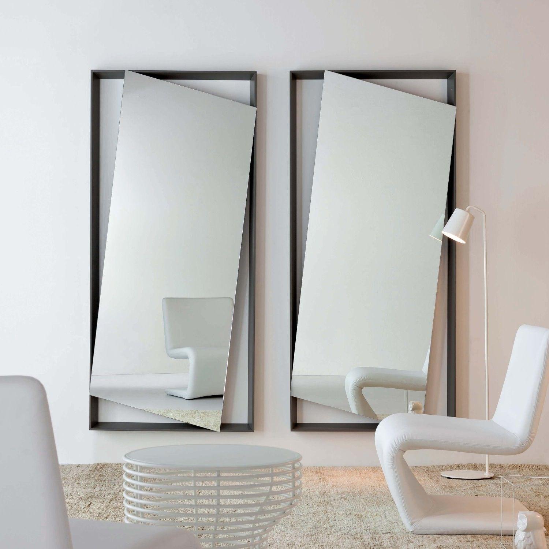Espejo con marco minimalista Hang Up Espejos de pared