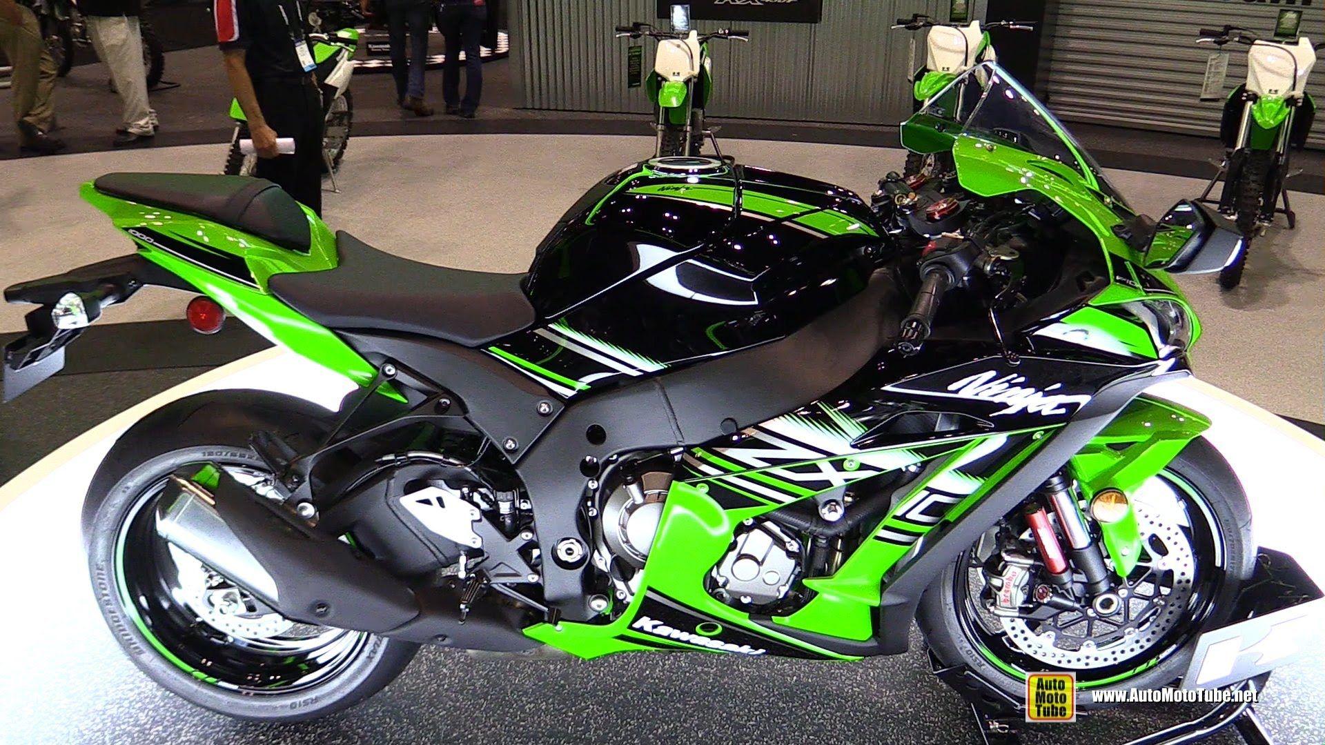 2016 Kawasaki Ninja Zx6r Krt Edition Walkaround 2015 Aimexpo Or