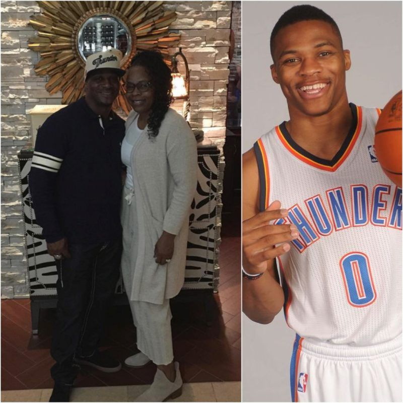 Russell Westbrook S Parents Russell Westbrook Sr Shannon Horton Nba News Oklahoma City Thunder Parenting