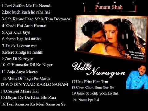 Udit Narayan Full Bollywood Romantic Songs Jukebox ( Just Click On