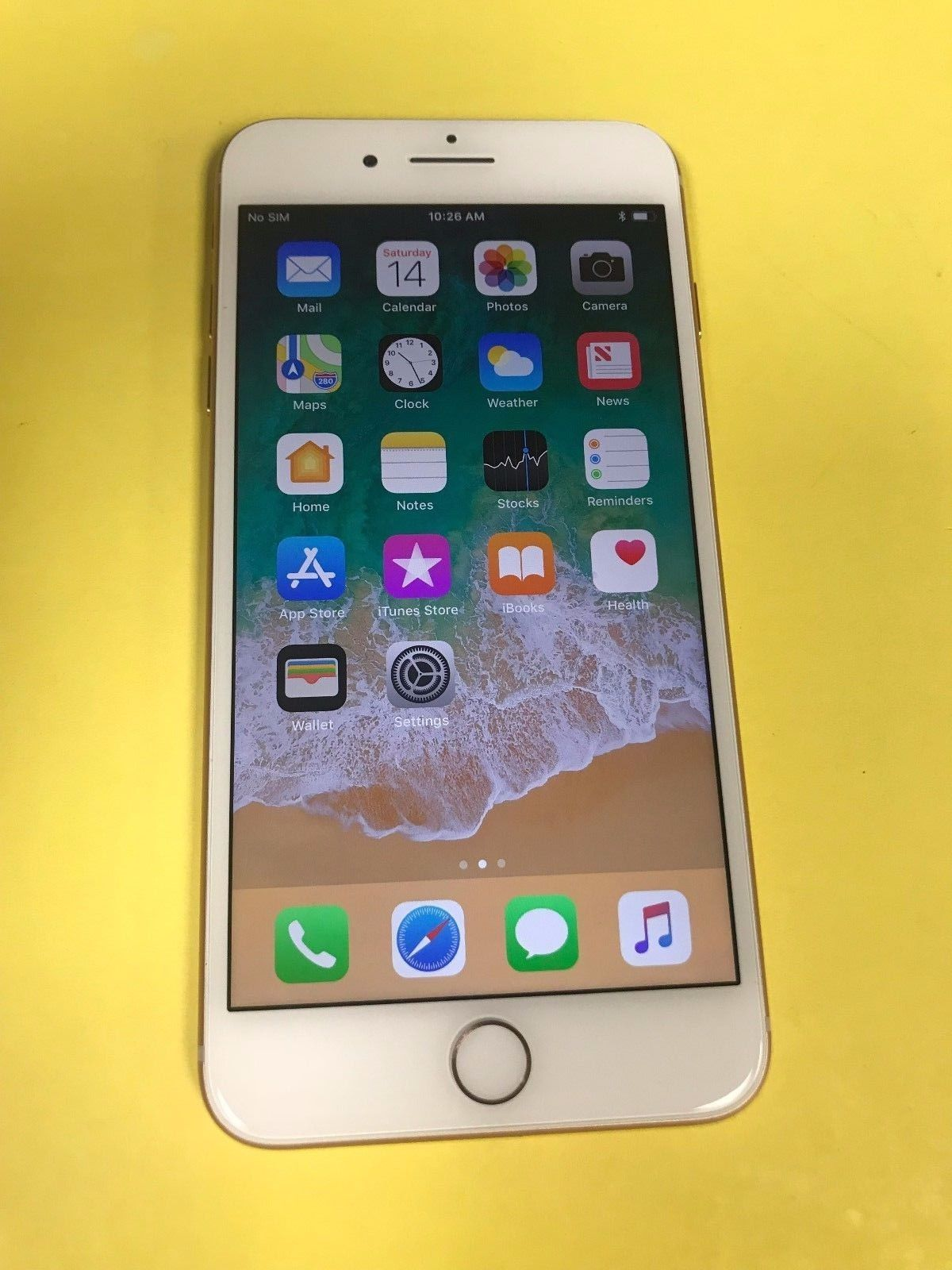 Apple Iphone 8 Plus 256gb Gold At T Smartphone Great