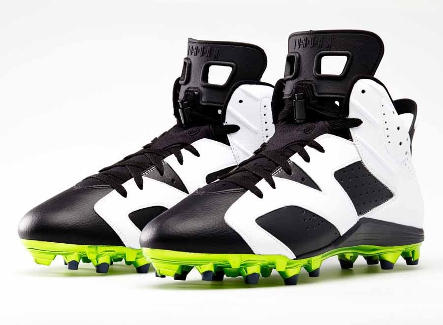 2e9219147 ... australia air jordan 6 retro cleats for michael crabtree and earl thomas  185c4 6be00
