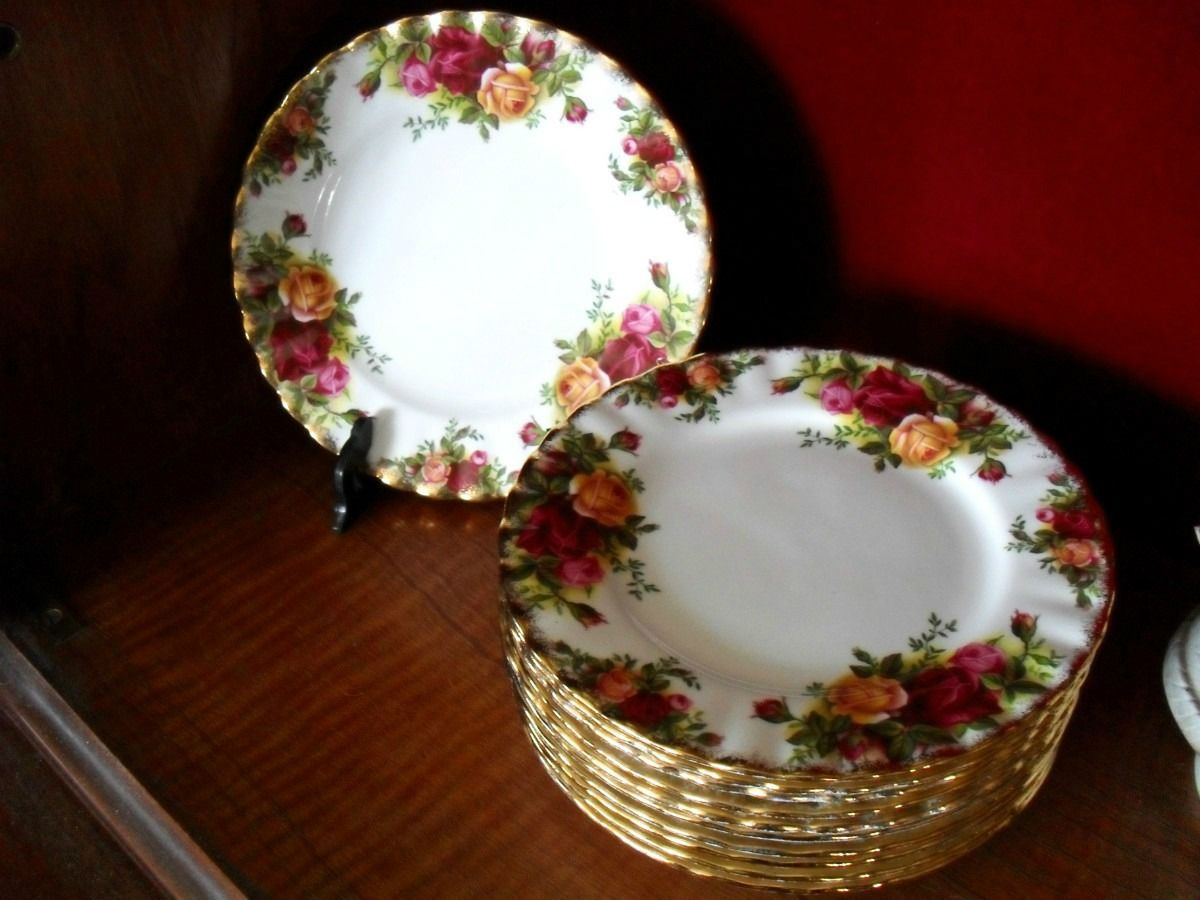 Plato de masas porcelana inglesa royal albert england for Platos porcelana