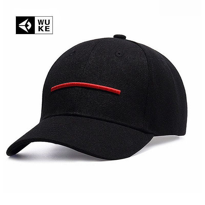 WUKE Brand 2017 New Line Baseball Cap Men Women Plain Canvas Bone Aba Curva  Adjustable Casual ae176071341