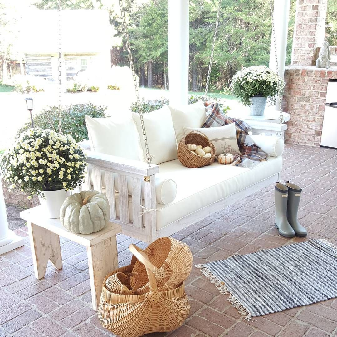 beautiful porch and swing outdoor furniture sets decor on porch swing ideas inspiration id=52012