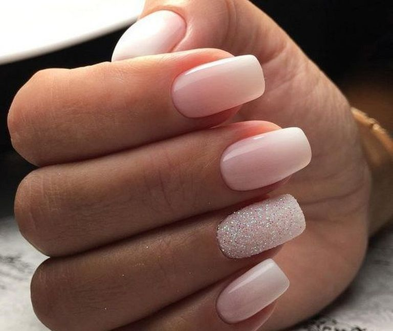 Nails Course Decorated In 2020 Pink Ombre Nails Nails Ombre Nails