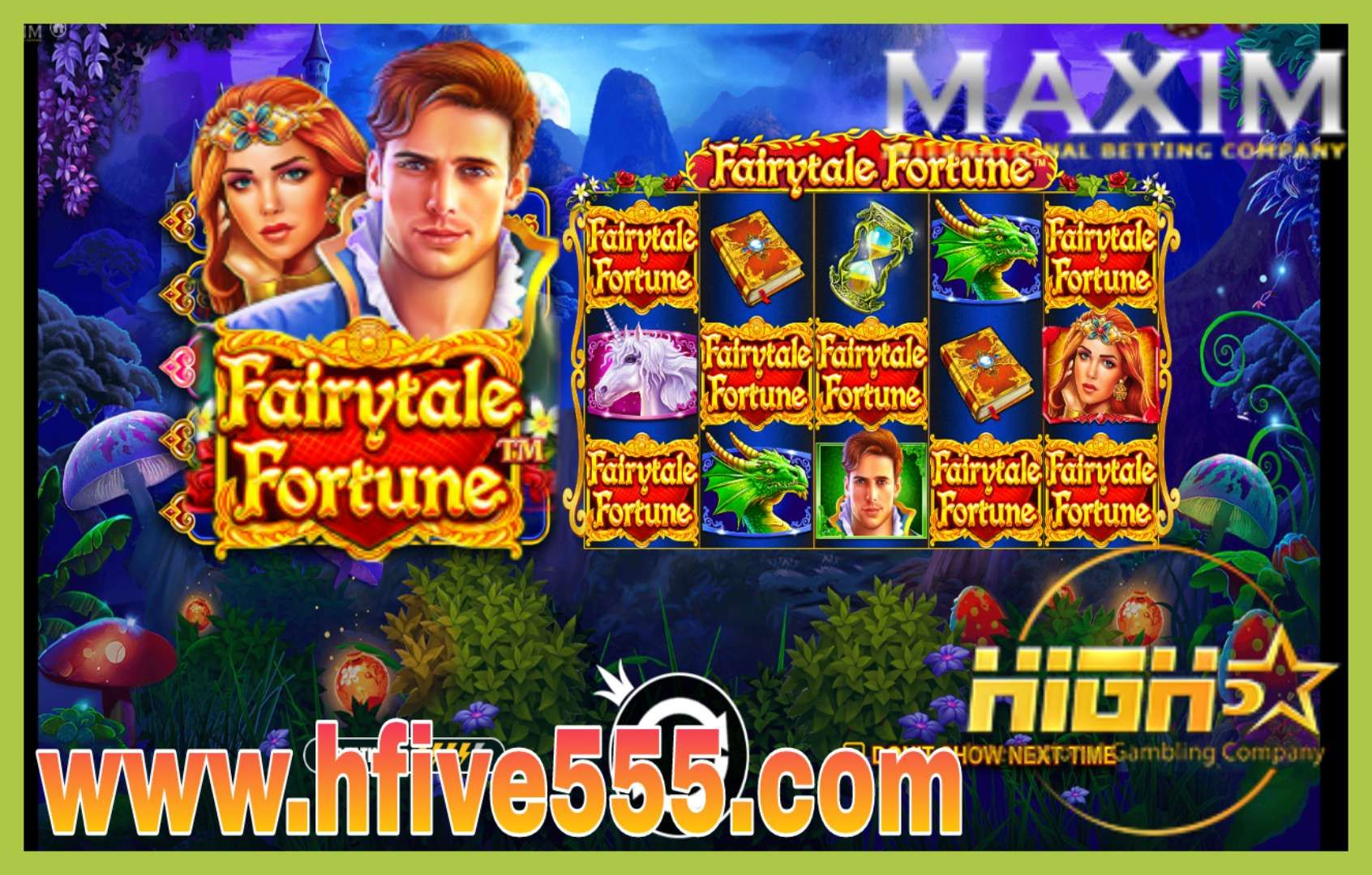 MAXIM SLOT🎰 Your luck never stop at high5 online casino