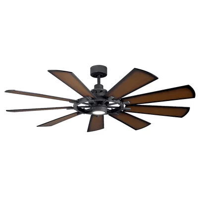 17 Stories 65 Alex 9 Blade Led Ceiling Fan Reviews Wayfair Ceiling Fans Without Lights Led Ceiling Fan Ceiling Fan With Light