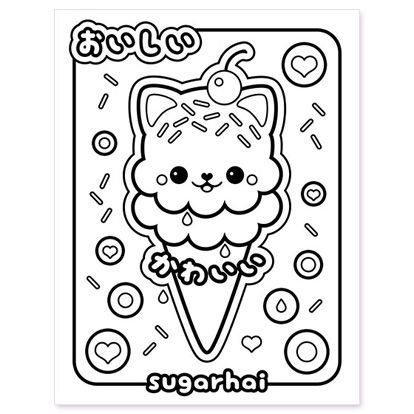 Free Printables Ice Cream Coloring Pages Free Kids Coloring Pages Cupcake Coloring Pages