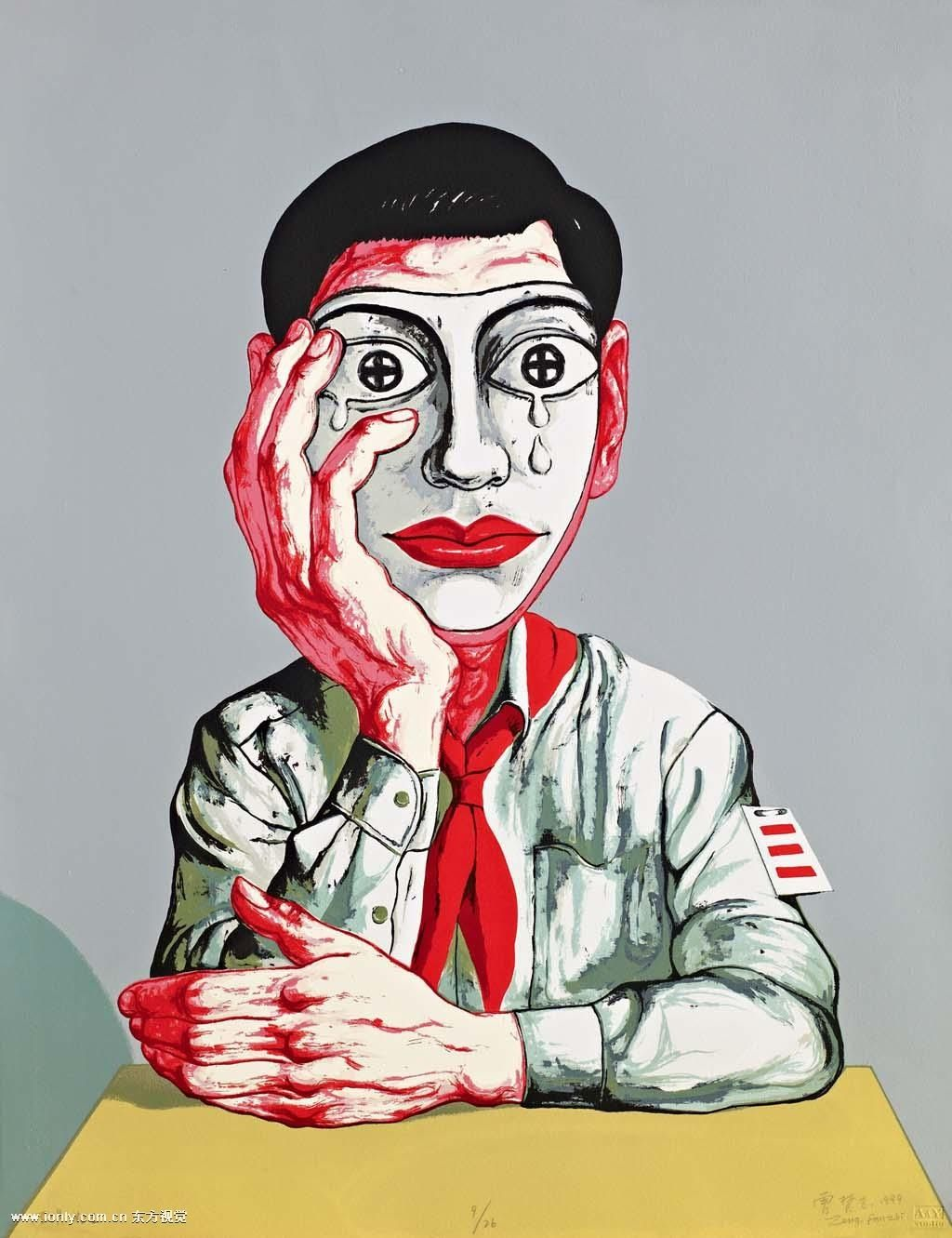 Zeng Fanzhi Http Www Widewalls Ch Artist Zeng Fanzhi Contemporary Art Expressionism Zeng Fanzhi Art Chinese Contemporary Art