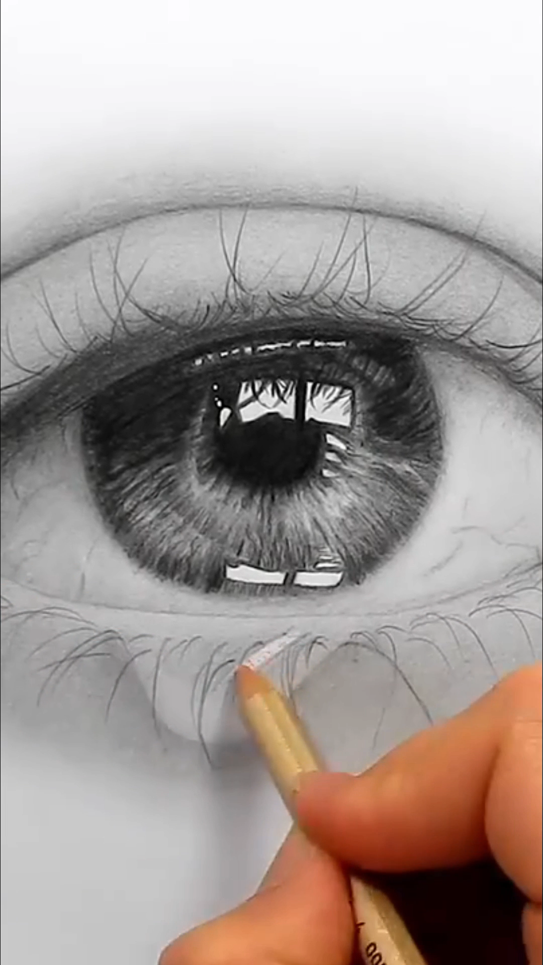 Hyper Realistic pencil Art mastery. Discover the secrets of drawing realistic pencil portraits