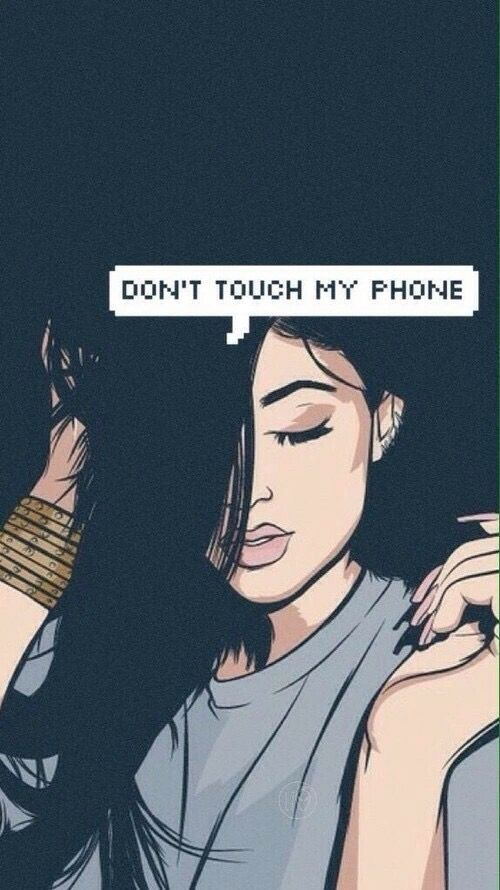 Kylie Jenner Wallpaper Dont Touch My Phone Wallpapers Screen Wallpaper Art Wallpaper Kylie jenner wallpaper iphone 2016