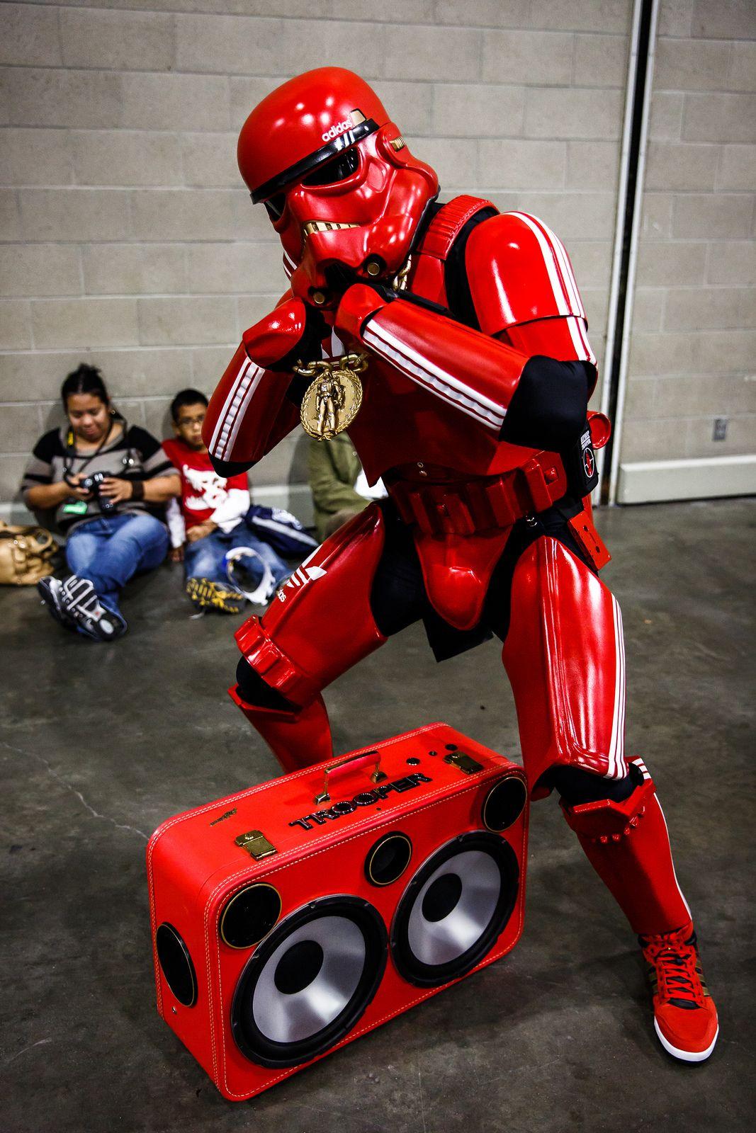 Adidas Stormtrooper Costume