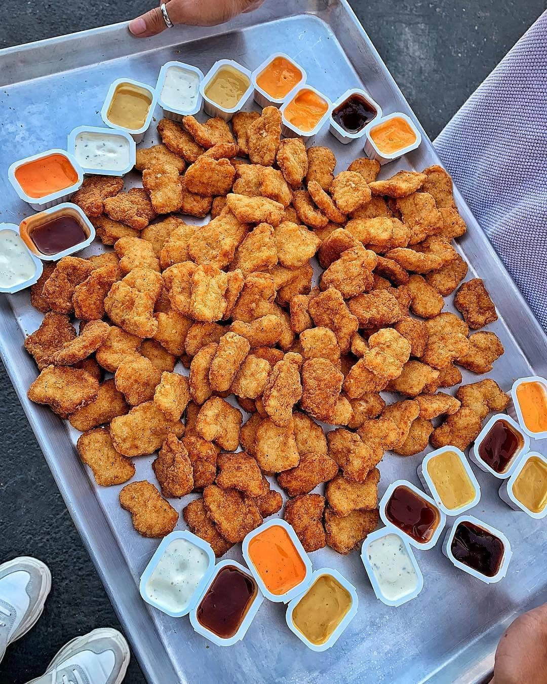Foodporn Pl Chicken Nuggets For The Whole Squad Tag Your Friends