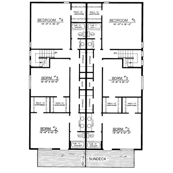 4 bedroom townhouse floor plans - Google Search | floor plans ...