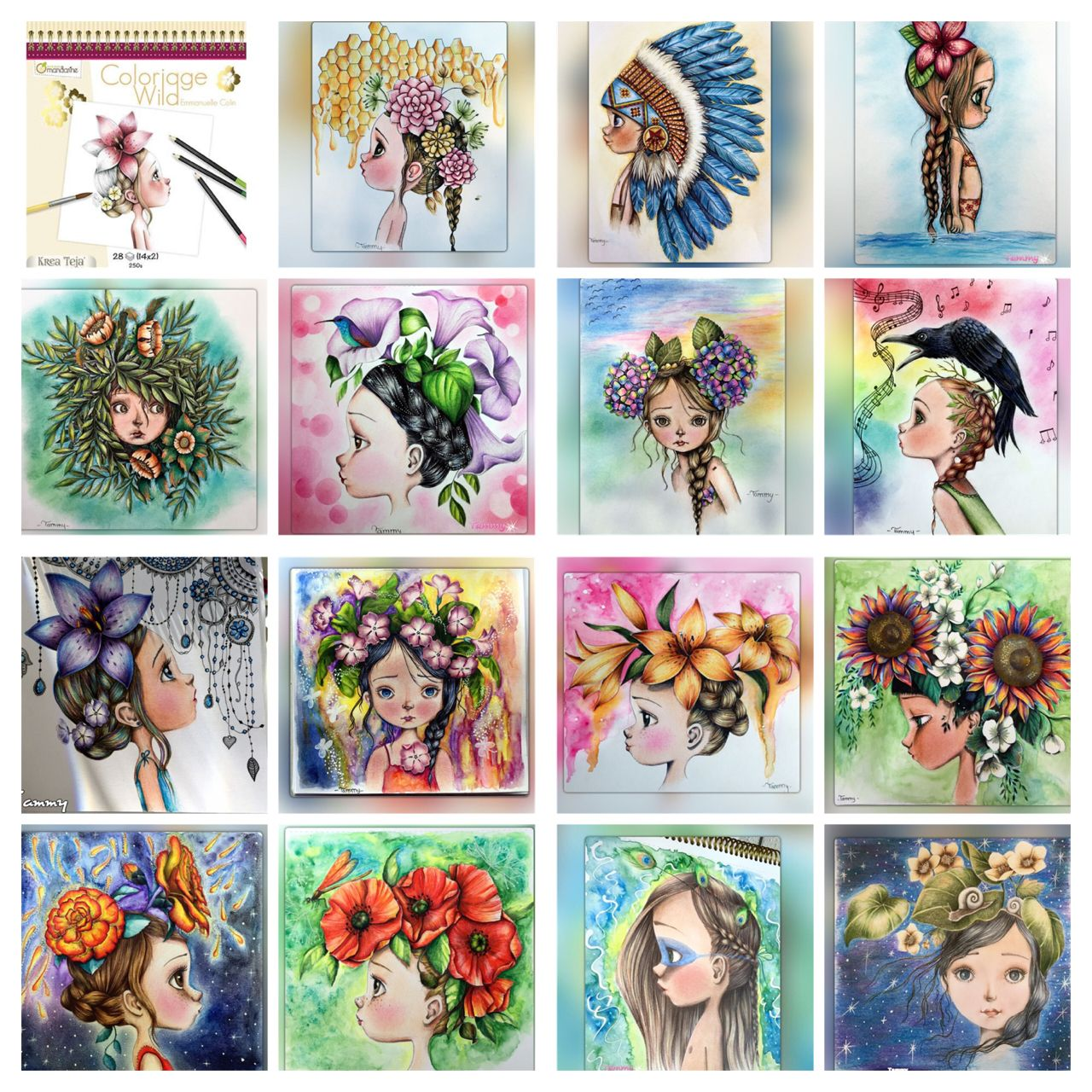 My Collection Of Coloriage Wild By Emmanuelle Colin