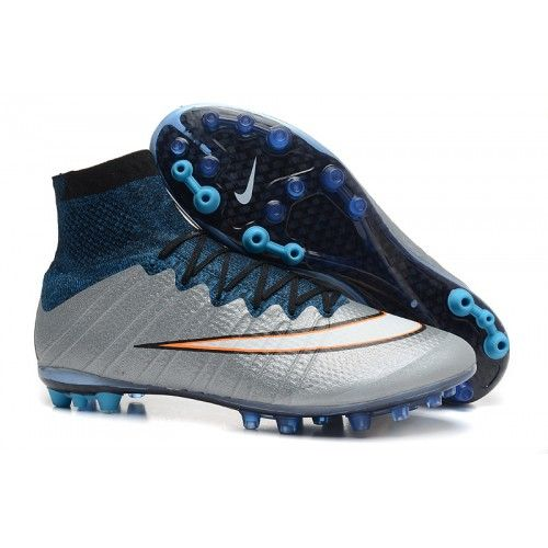 Buy Nike Mercurial Superfly CR AG Metallic Silver White Hyper Turq Black  Football Boots