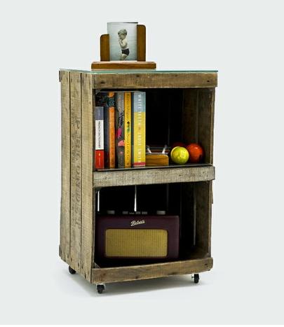 5 id es pour recycler des cagettes en bois dans votre. Black Bedroom Furniture Sets. Home Design Ideas