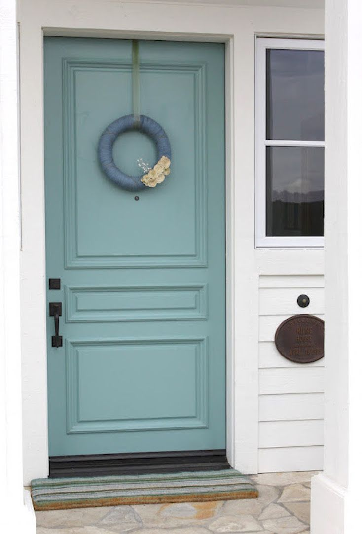 Popular front door paint colors home hankerings front door paint colors best front door - Front door paint colors ...