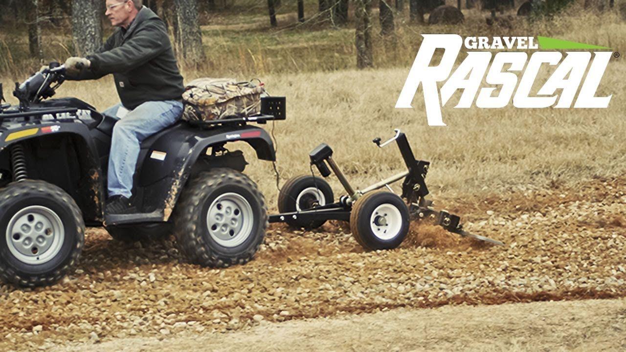 Gravel Rascal Atv Driveway Grader Landscape Rake Landscape Rake Tractors Landscape