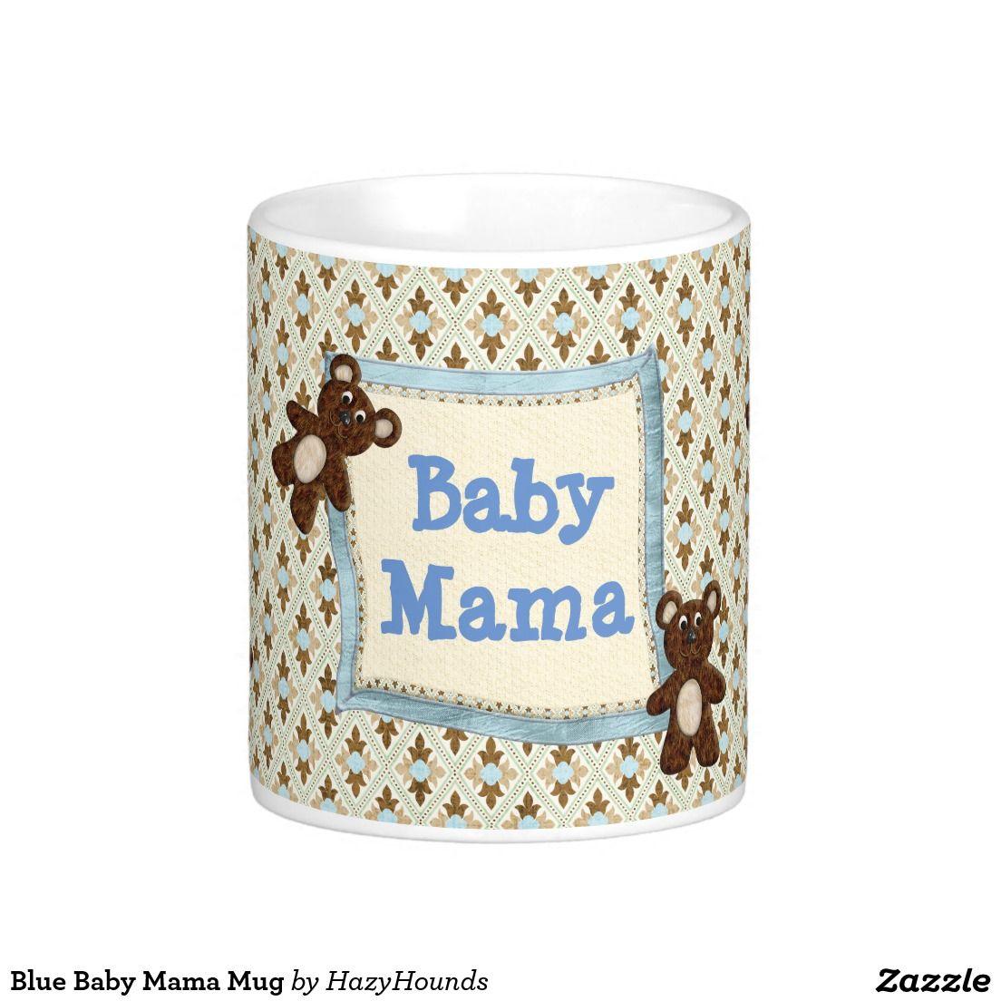 Blue Baby Mama Mug