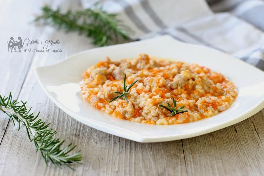 Pranzo Per Marito : Risotto zucca e salsiccia ricetta piatti da fare food ethnic