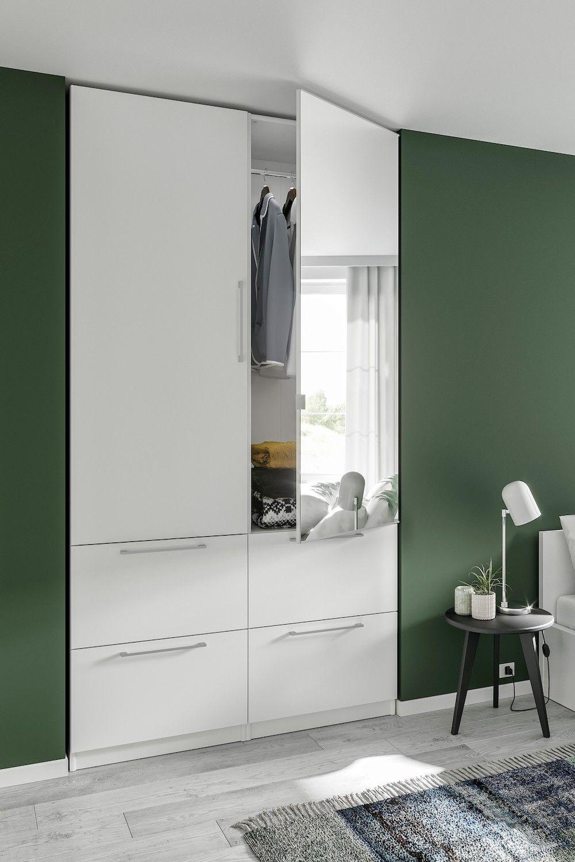Caisson Droit H226 X P50 Cm Pour Dressing Espace En 2020 Porte Miroir Miroir Dressing Dressing De Reve
