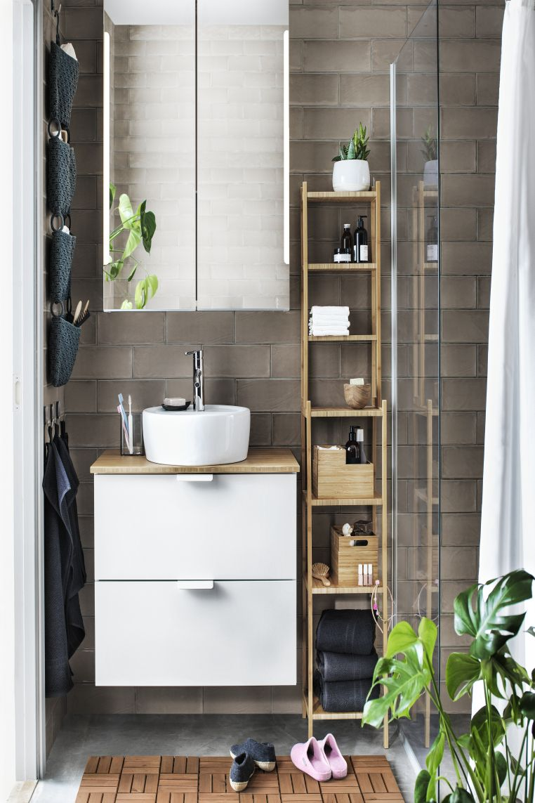 Very, very clever small bathroom storage ideas | Small ...