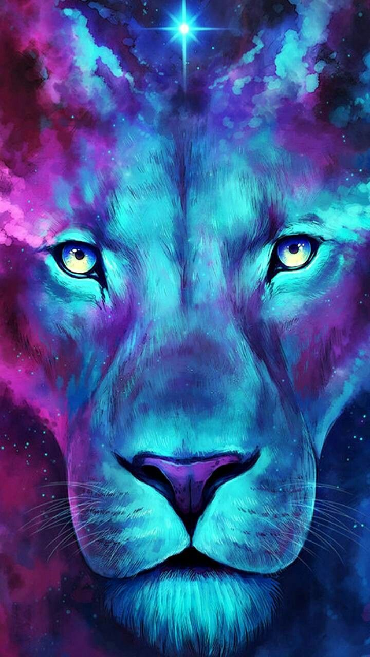 Pin by Tracy on Abstract Art | Lion wallpaper, Lion ...
