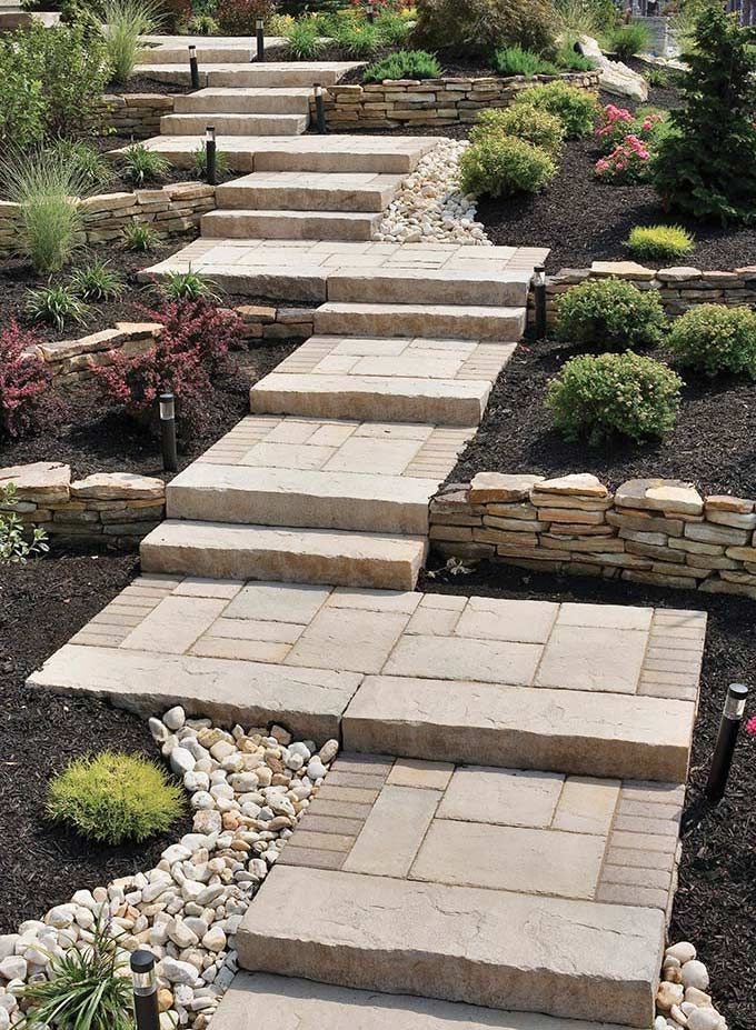 Project Gallery For Walkways With Pavers  Natural Stone