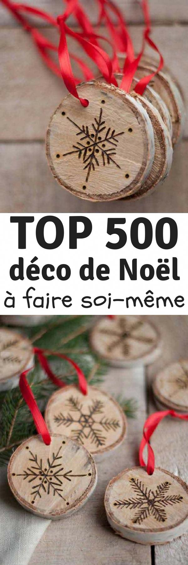 TOP500 Déco de Noël à Fabriquer et à Faire SoiMême
