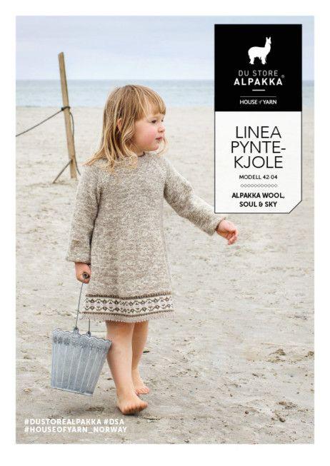 Photo of DSA42-04 Linea Ornament Dress – Du Store Alpaca